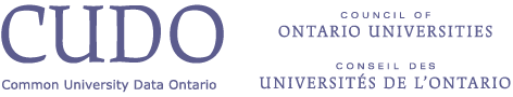 Common University Data Ontario